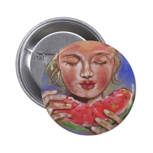 Juicy Lucy 2 Inch Round Button