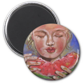 Juicy Lucy 2 Inch Round Magnet