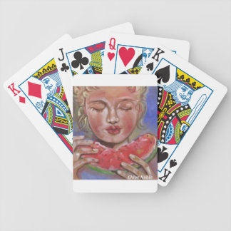 Juicy Lucy Bicycle Playing Cards