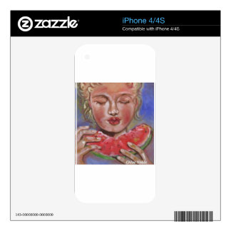 """""""Juicy Lucy"""" Decal For The iPhone 4"""