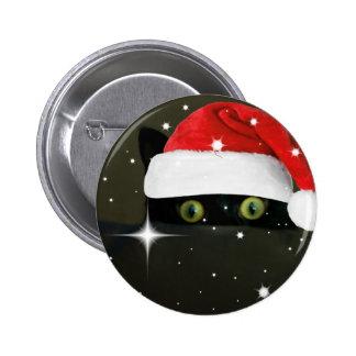 Juicy Lucy Santa Hat Button