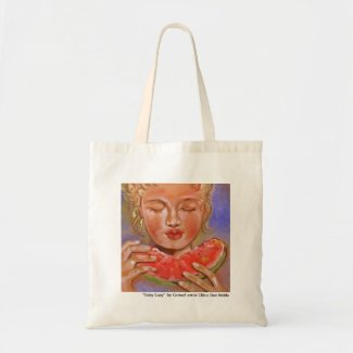 """JUICY LUCY"" TOTE BAG"
