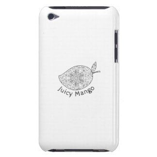 Juicy Mango Black and White Mandala iPod Touch Cover