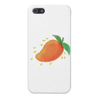 Juicy Mango Fruit Watercolor iPhone SE/5/5s Cover