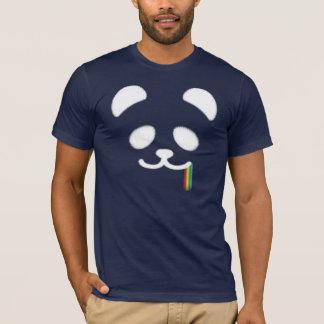 Juicy Panda Rainbow2 White T-Shirt