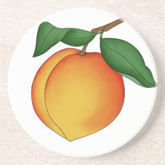 Juicy Peach Coaster