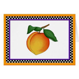 Juicy Peach Greeting Card