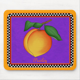 Juicy Peach Mouse Pad