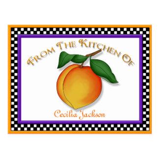 Juicy Peach Recipe Cards