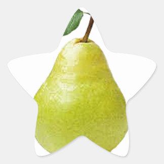 juicy pear star sticker