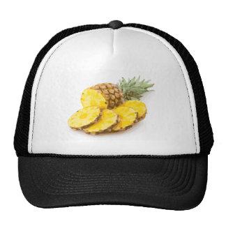 Juicy Pineapple Slices Mesh Hats