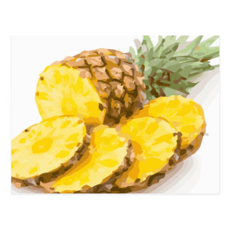 Juicy Pineapple Slices Postcards