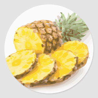 Juicy Pineapple Slices Sticker