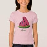 Juicy Pink Sweet Watermelon Slice Fruit Tee