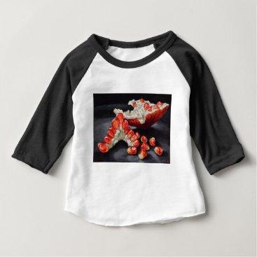 Beach Themed Juicy Pomegranate Baby T-Shirt
