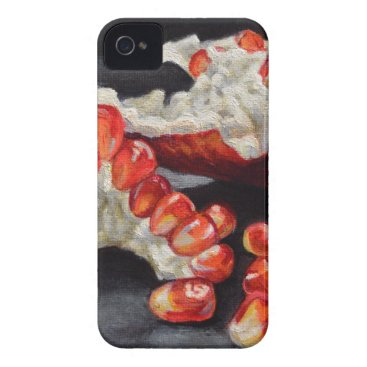 Beach Themed Juicy Pomegranate iPhone 4 Case-Mate Case