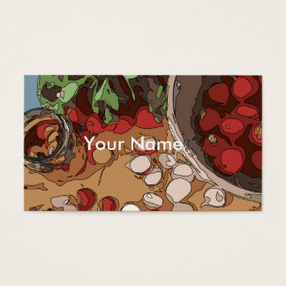 Juicy Radishes and Grilled Potato Business Card