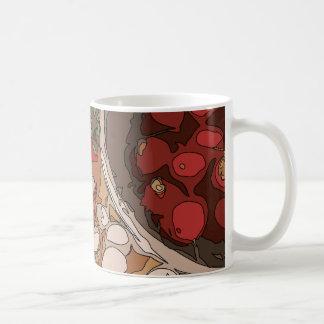 Juicy Radishes and Grilled Potato Coffee Mug