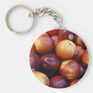 Juicy Red apples Keychain