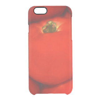 Juicy Red Homegrown Garden Tomatoes Clear iPhone 6/6S Case