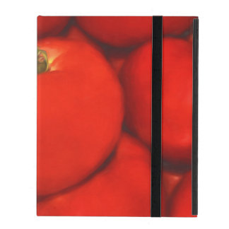 Juicy Red Homegrown Garden Tomatoes iPad Cases