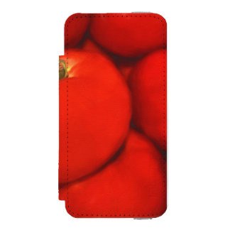 Juicy Red Homegrown Garden Tomatoes Wallet Case For iPhone SE/5/5s