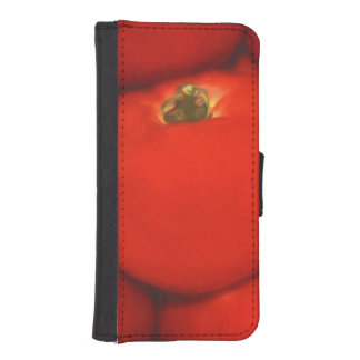 Juicy Red Homegrown Garden Tomatoes Wallet Phone Case For iPhone SE/5/5s