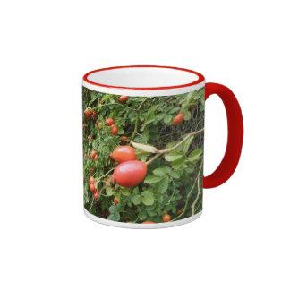 Juicy Red Rose Hips Mug