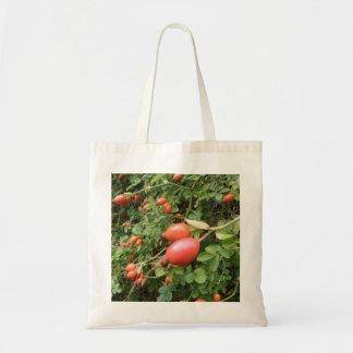 Juicy Red Rose Hips Tote Bag