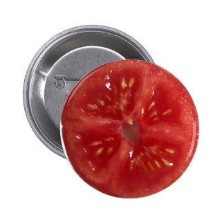 Juicy Red Tomato Button