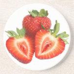 Juicy Strawberries Coaster