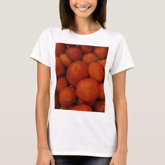 Juicy Strawberries Ladies T Shirt