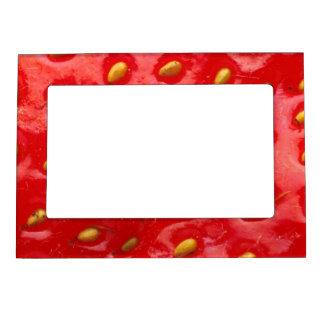 Juicy Strawberry Magnetic Photo Frame