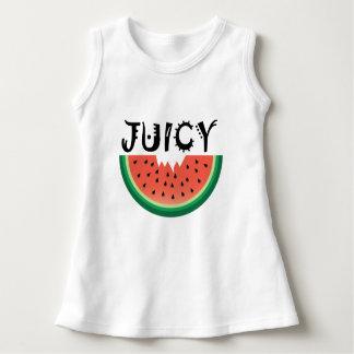 Juicy Watermelon - Baby Sleeveless Dress Dress