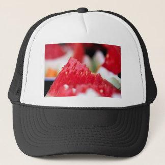 Juicy Watermelon close-up Trucker Hat