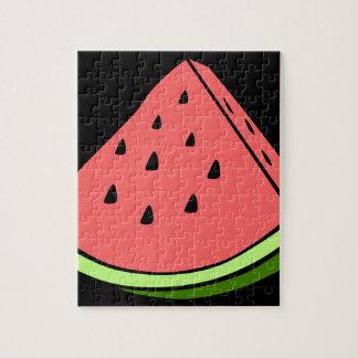 Juicy Watermelon Jigsaw Puzzle