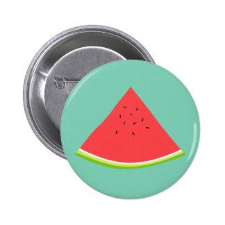 Juicy Watermelon Slice Button