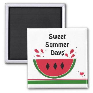 Juicy Watermelon Slice Fridge Magnet