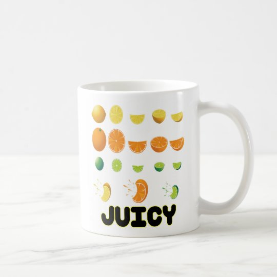 Juicy Yellow Coffee Mug