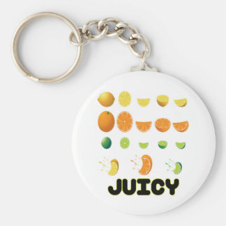 Juicy Yellow Keychain