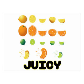 Juicy Yellow Postcard