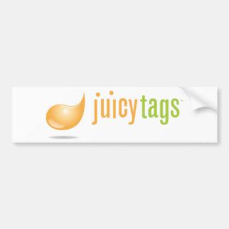 JuicyTags Merchandize Car Bumper Sticker