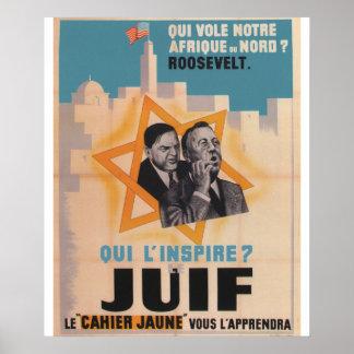 Juif Propaganda Poster
