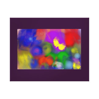 JuJuRee Abstract Canvas Canvas Prints