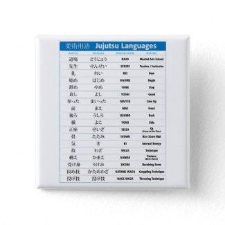 Jujutsu Chart Pinback Button