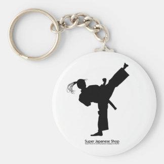 Jujutsu Girl and Chart Keychain