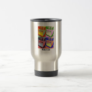 Juke box, Wurlitzer Travel Mug