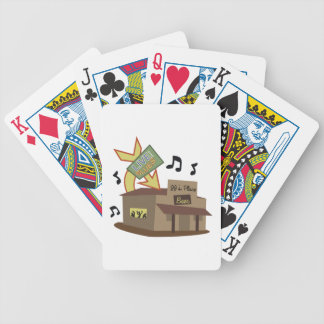 Juke Joint Building Bicycle Playing Cards