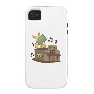 Juke Joint Building Vibe iPhone 4 Cover