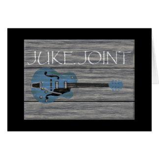 Juke Joint Retro Sign Card